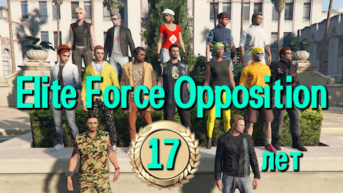 Elite Force Opposition исполнилось 17 лет!